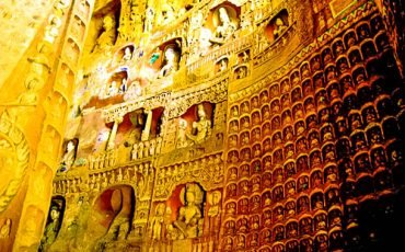 Yungang Cave Grottoes Datong China 5