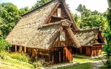 Open Museum of Traditional Japanese Farm Houses Osaka Japan Photos 1