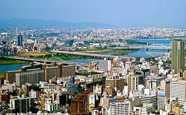 Osaka Skyline from Umeda Sky Building Japan 6