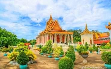 Grand Royal Palace Phnom Penh Cambodia 16