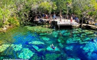 Cenote Azul Tulum Mexico Riviera Maya 15