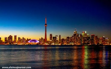 Toronto Center Island Night