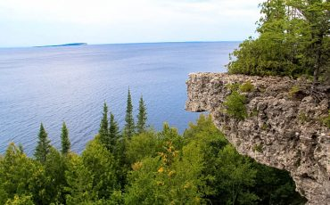 Bruce Peninsula Overhanging Point