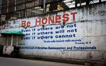 Mural Graffiti Honesty Philippines