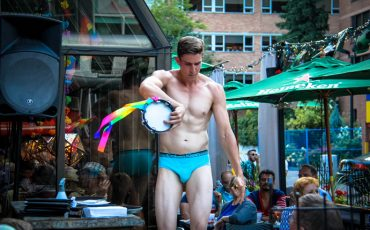 Underwear Show at California Cafe World Pride Toronto 29