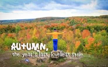 Toronto Fall Colors Ontario Mono Cliffs 1