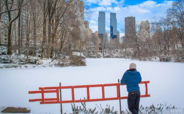 New York Central Park in Snow 3