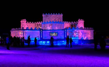 Ice Castle 2015 Winter Carnaval Quebec City 1