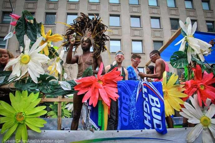 Toronto Pride Parade 2015.