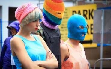 Pussy Riot 2015 Toronto Pride Parade 6