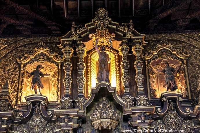This Church Altar in Remedios is Made of Gold / San Juan Bautista de los Remedios / Cuba.