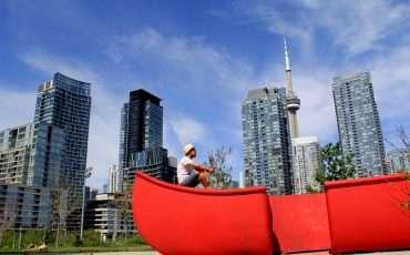Red Canoe Landing Toronto 1