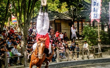 Equestrian Show at Suwon Korean Folk Village 2