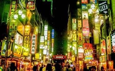 The Neons Lights of Kabukicho in Shinjuku Japan 4