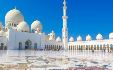 Sheikh Zayed Grand Mosque Abu Dhabi UAE 10