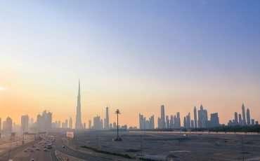 Sunset Dubai Skyline 5