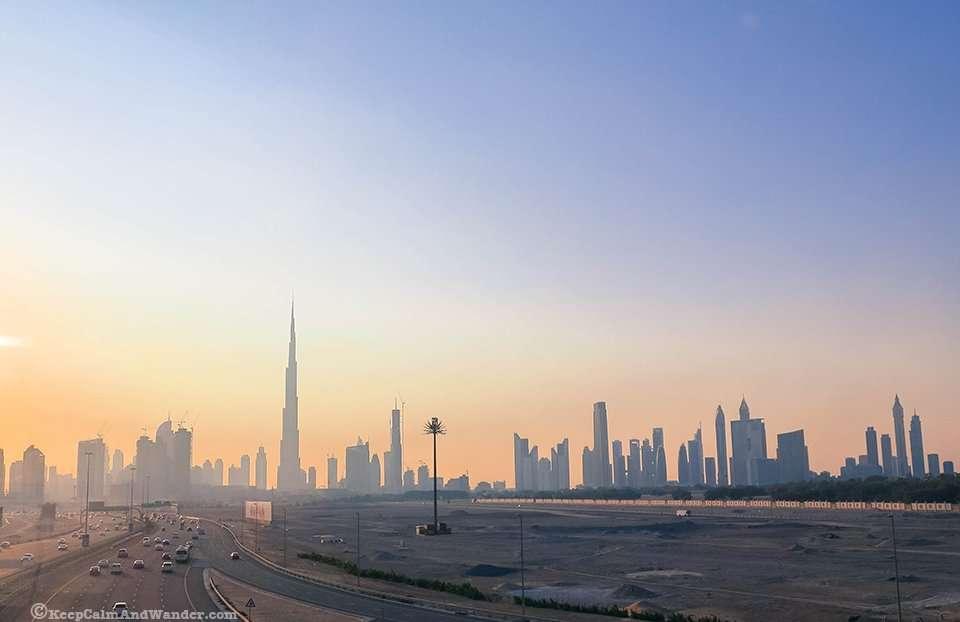 Sunset in Dubai / Dubai Skyline. Why Dubai Should be on Your Bucket List