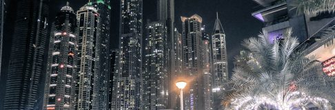 Dubai Marina at Night 9