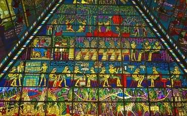 Mosaic Wafi Mall Dubai 4