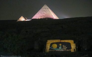 Pyramids at Night Lights and Sounds Show 8