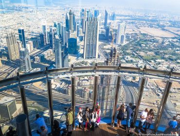 Top of Burj Khalifa Dubai Skyline 7