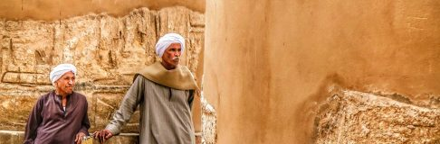 Guards at Karnak Temple Luxor Egypt 6
