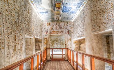 King Rameses IV Tomb Valley of the Kings Luxor 6