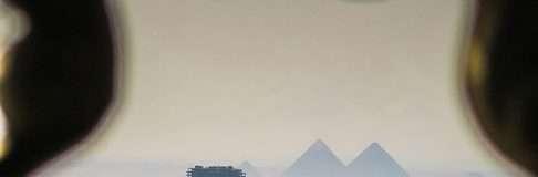 Pyramids from Citadel 8