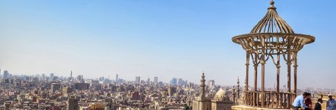 View of Cairo from Citadel 8
