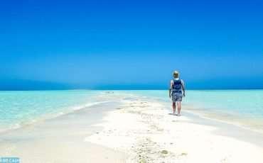 White Beach Island in Saudi Arabia 1