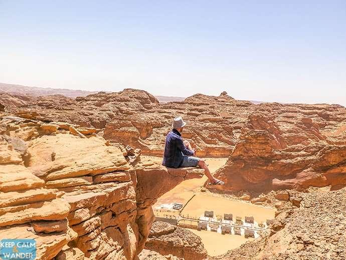 I Wore Flip Flops Climbing Mountains in Al Ula