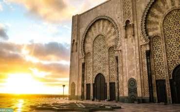 Sunset in Casablanca Hassan Msque 5