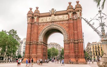 Arc de Triomf Barcelona Spain 2