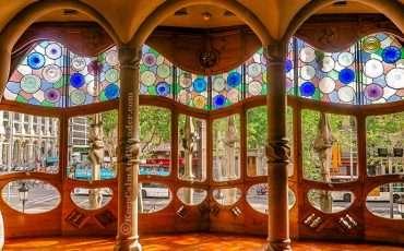 Casa Batllo Gaudi Barcelona Spain 5