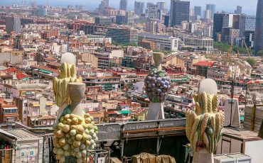 Sagrada Familia View from the Top Barcelona Spain 1