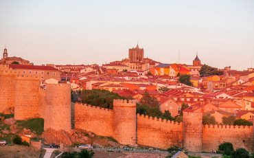 Sunset Avila Spain 2