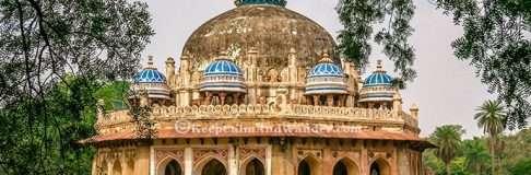 Isa Khan Tomb India 8