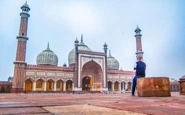Jama Masjid Delhi India 1