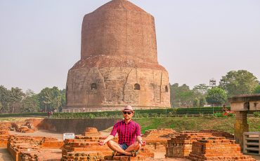 Alain.Buddha Sarnath Varanasi India 2