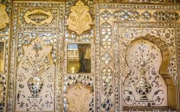 Sheesh Mahal Amber Fort Amer Jaipur 6