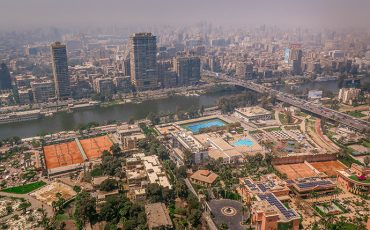 Cairo Tower View Panorama Egypt 7