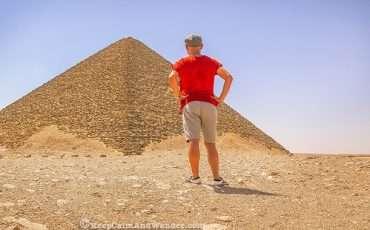 Red Pyramid Cairo Egypt Dahshur Saqarra 0