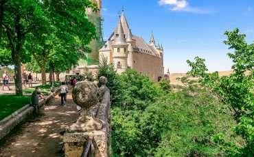 Alcazar Segovia Spain 2
