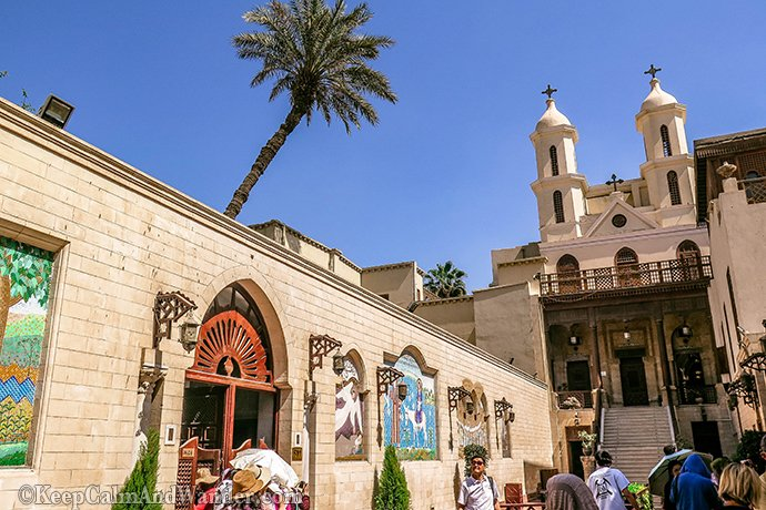 Hanging Church Coptic Cairo Egypt 2
