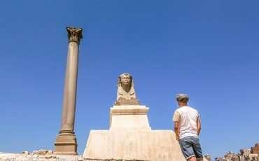 Pompey's Pillar Alexandria Egypt 9