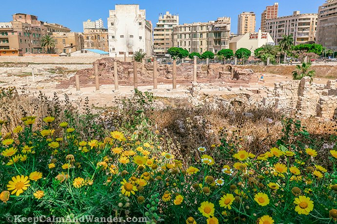 The Roman Amphitheater After the Upgrade (Alexandria, Egypt).