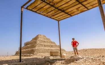 Saqqara Pyramids Cairo Egypt 14