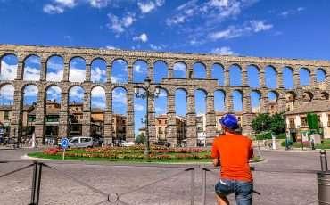 Segovia Roman Aqueduct Spain 1