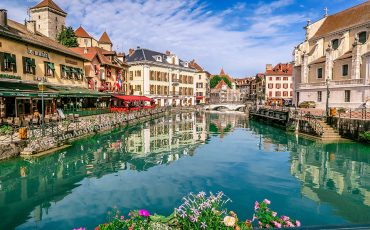 Annecy Canals Photos France 10