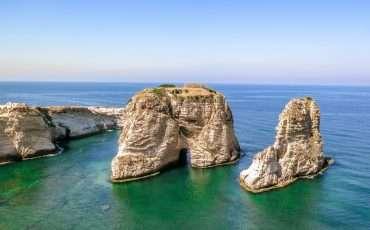 Pigeon Rocks Lebanon 7